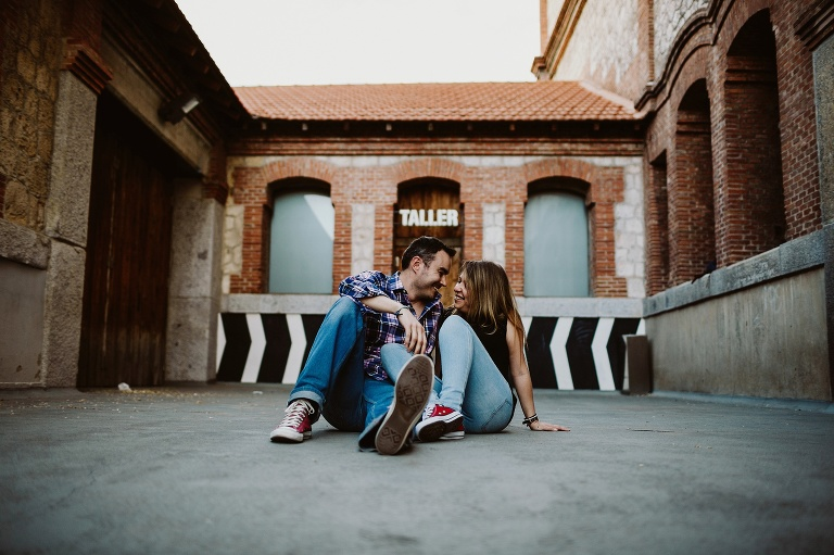 madrid engagement pics