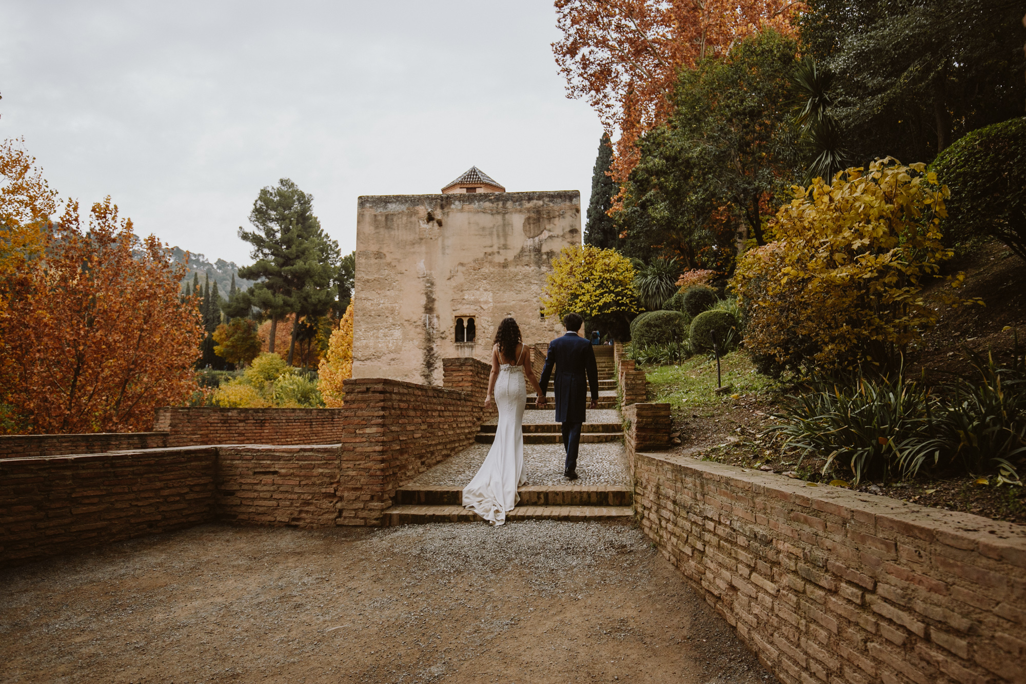 my cool wedding in alhambra granada