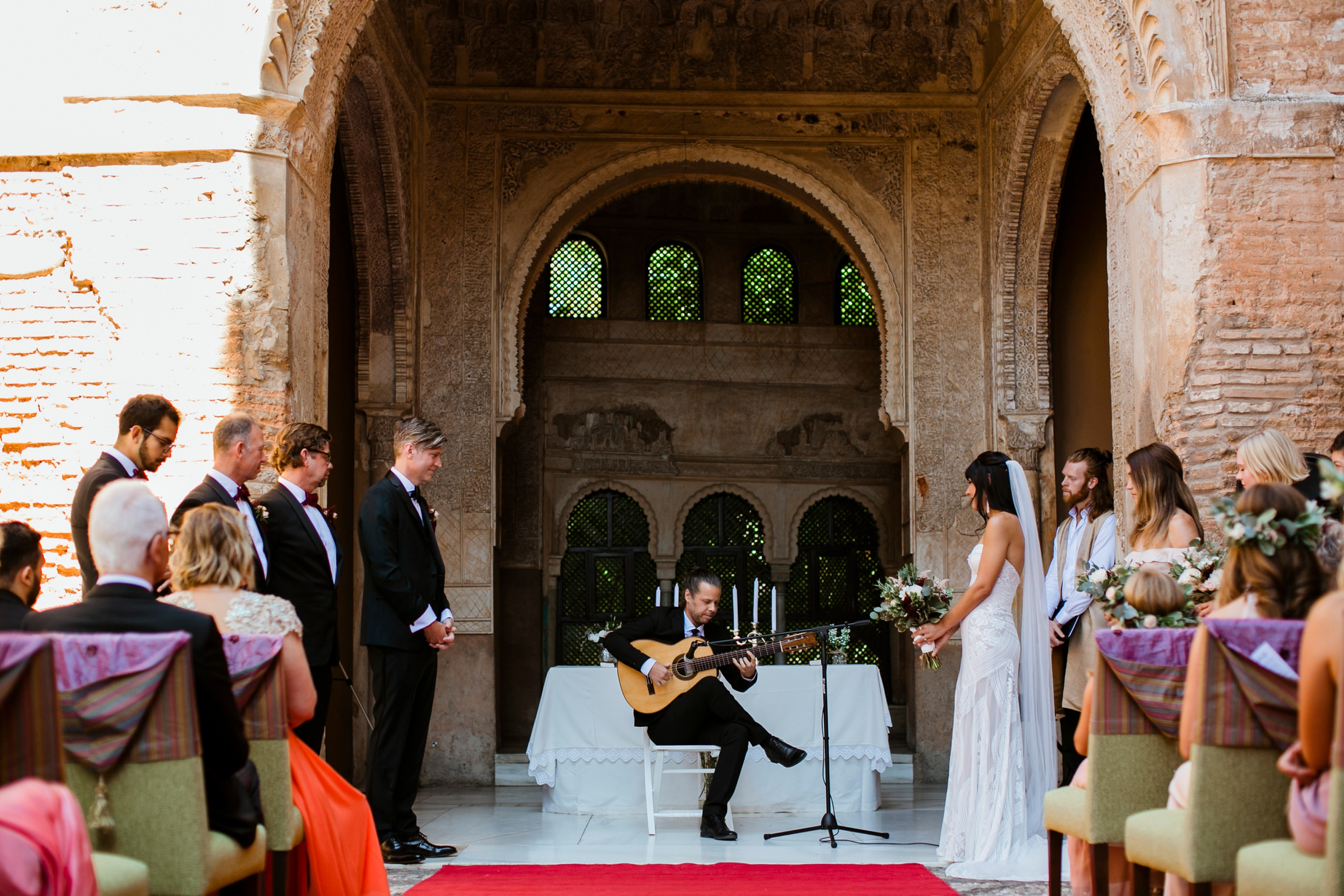 civil wedding alhambra