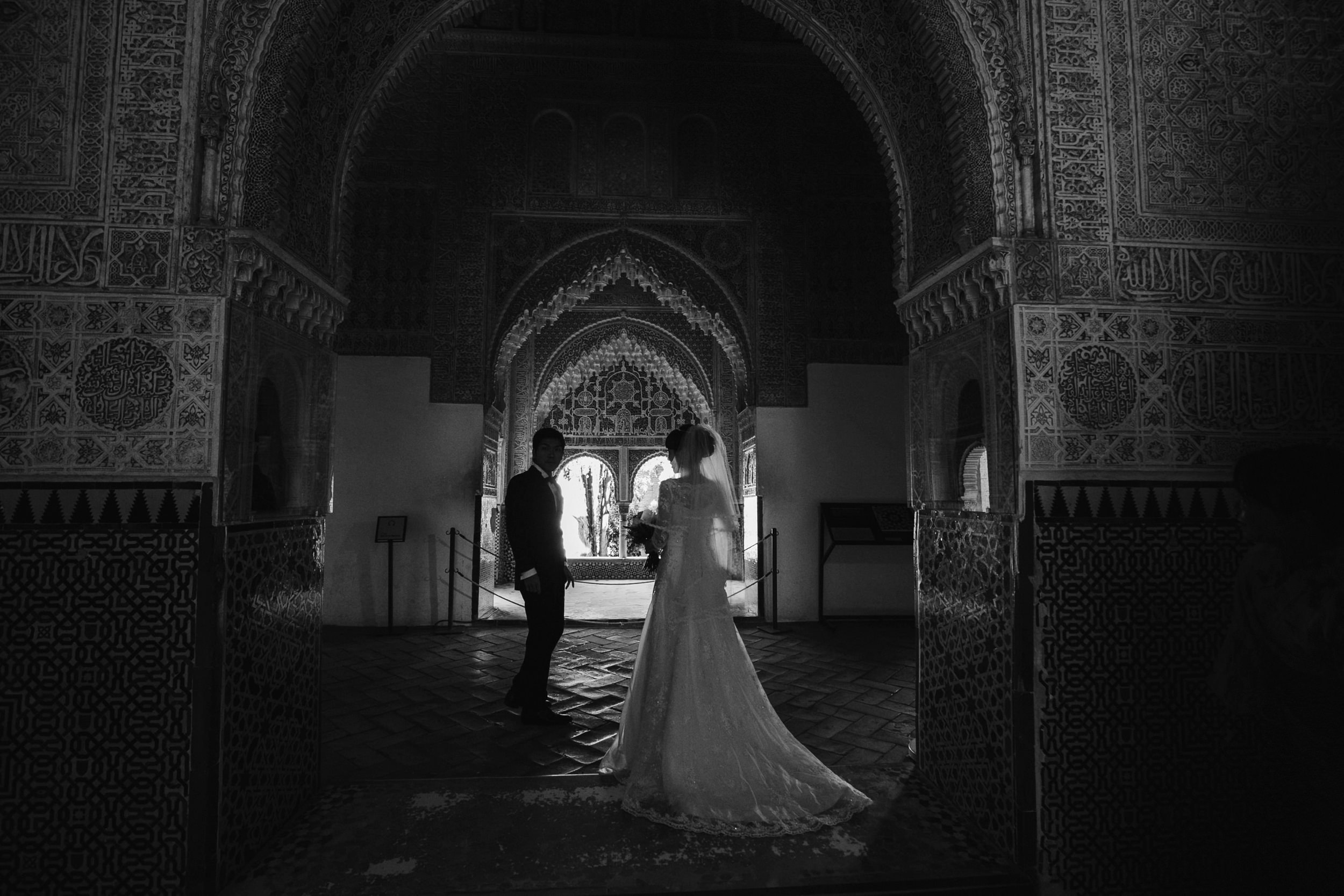 japanese wedding alhambra
