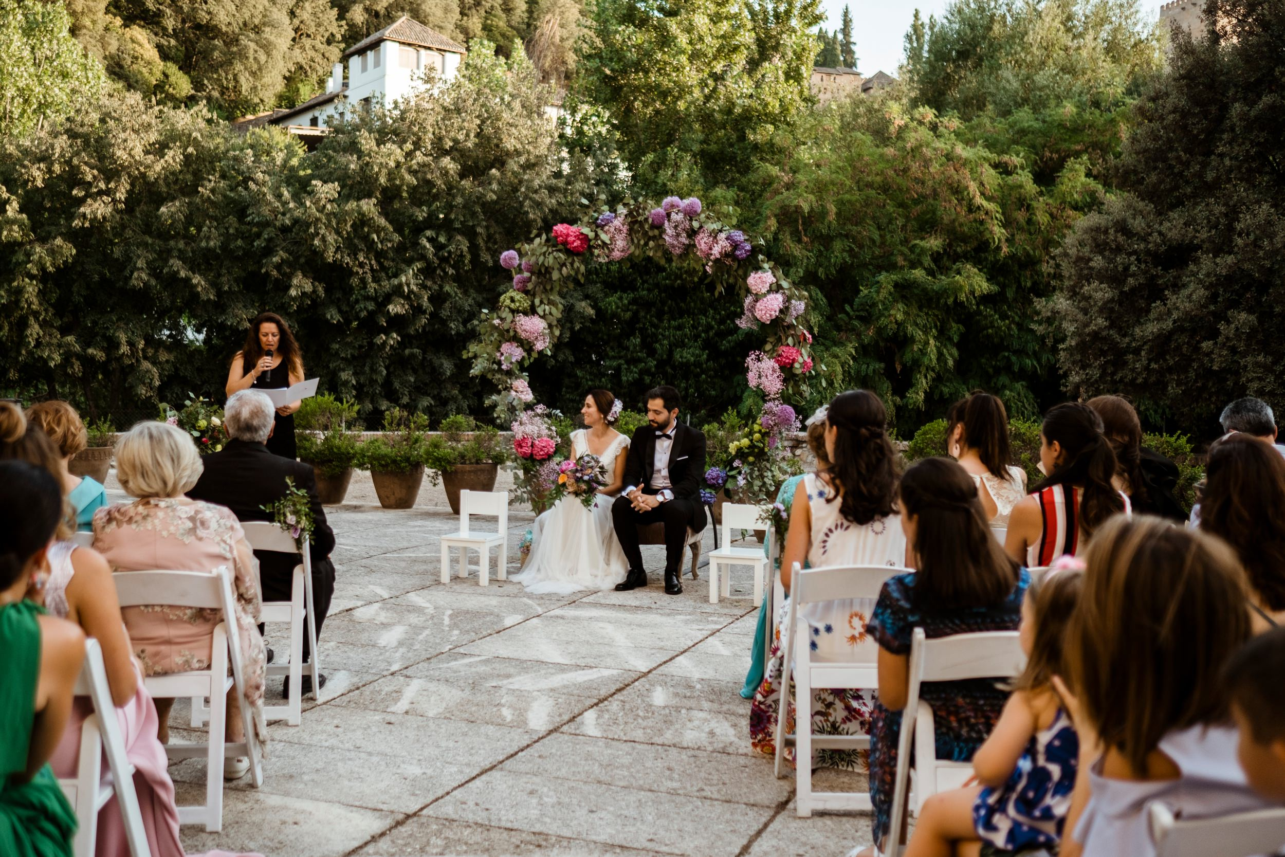 wedding ceremony granada