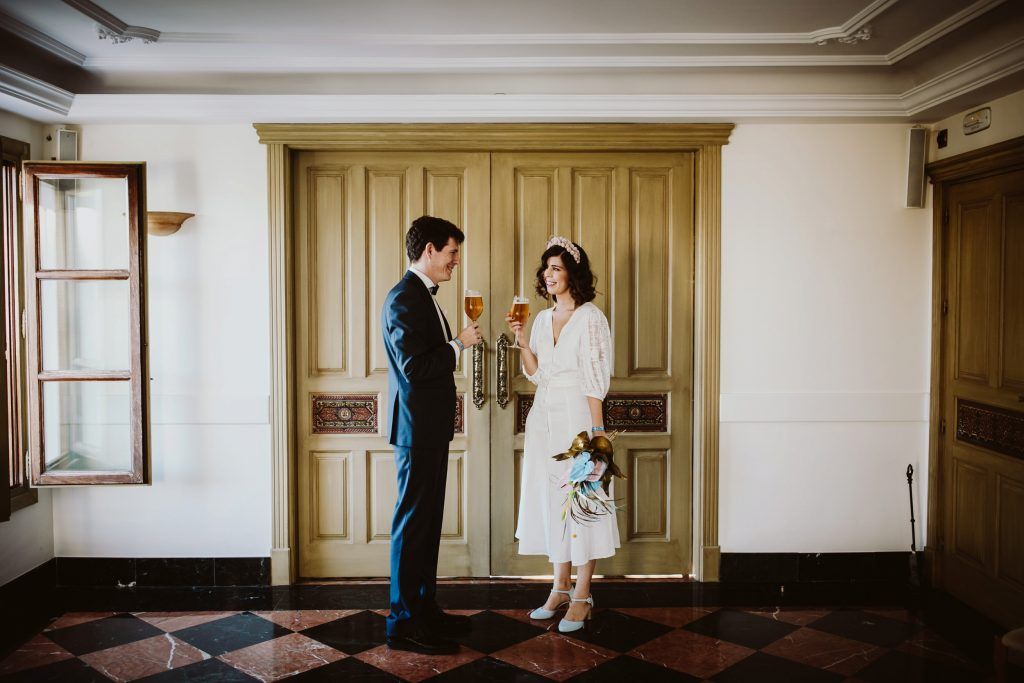 boda civil en La Borraja San Nicolas