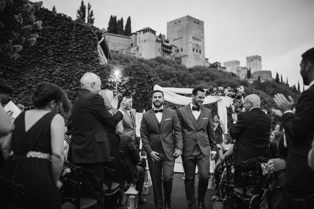 boda civil carmen de los chapiteles