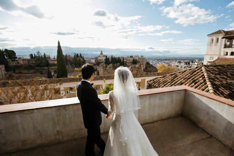japanese wedding alhambra